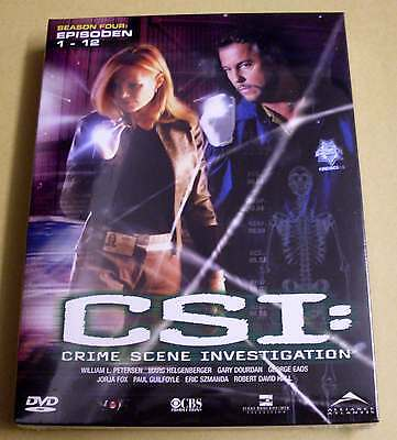 DVD Box CSI: Staffel Season 4 Vier Four - Epsioden 1 - 12 DVDs 4.1 Neu OVP