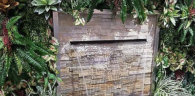 WATER FEATURE - STAINLESS 300 PROJECTING 316 SPILLWAY with option to add LEDs