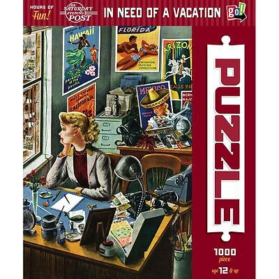 In Need of a Vacation 1000 Piece Puzzle