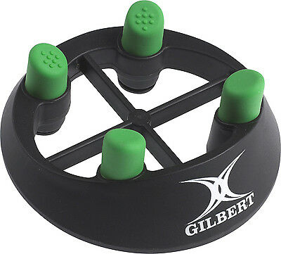 New Gilbert Pro 320 Durable Rugby Kicking Tee Black/Green