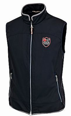 Pikeur Mens / Unisex Almaro Lightweight Gilet - Navy Choose Size