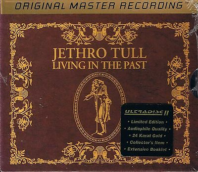 Jethro Tull Living in the Past MFSL Double Gold CD Neu Sealed UDCD 2-708 with St