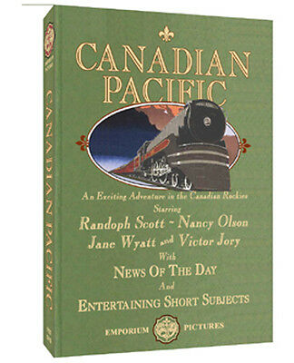 Canadian Pacific - Randolph Scott & Nancy Olson - Great Western Adventure On DVD