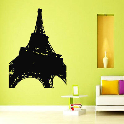 EIFFEL TOWER Ballon Paris Vinyl Art Quotes Wall Sticker Home Mural ...