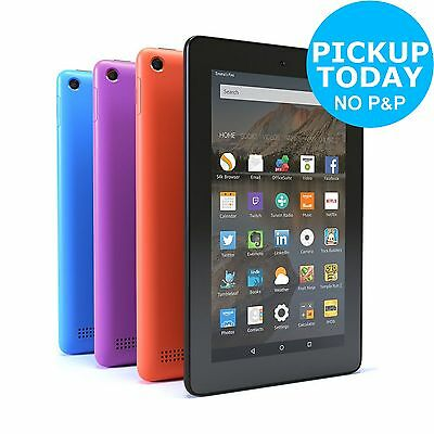 Amazon Fire 7 Inch WiFi Tablet - Choice of Size (8GB/16GB) and Colour :Argos