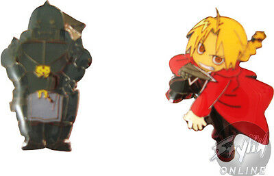 Fullmetal Alchemist - Elric Brothers Pin Badges