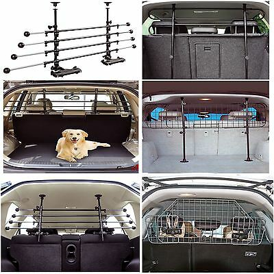 Complete Range of Adjustable Pet Dog Safety Barrier Deluxe Wire Mesh Headrest