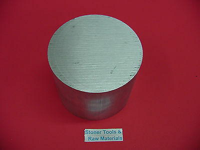 "5"" ALUMINUM 6061 ROUND ROD 3.3"" LONG T6511 5.00"" Diameter Solid Lathe Bar Stock"