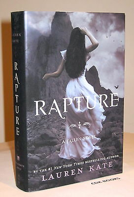 LAUREN KATE RAPTURE SIGNED DATED 1st EDITION NEW & UNREAD