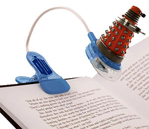*NEW* Dr Doctor Who DALEK Clip On Booklight