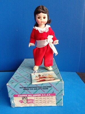 "VINTAGE 8"" RED BOY DOLL BY MADAME ALEXANDER- 1970s"