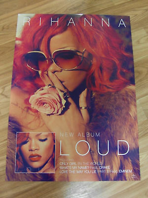 Rihanna - Loud [Two Sided Original Poster] New
