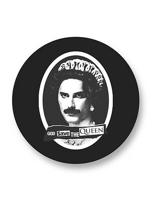"Pin Button Badge Ø25mm 1"" Queen Rock UK Freddie Mercury"