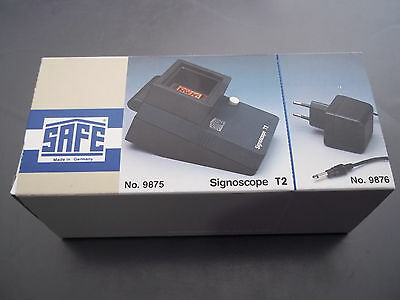 SAFE Signoscope T2 mit Trafo Neuware (9875+9876)
