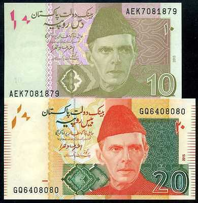 P 45a Uncirculated Banknotes PAKISTAN 10  RUPEES  2006  Serie D