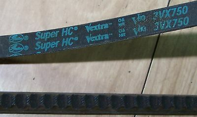Gates Super HC Vextra V Belt 3VX750