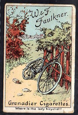 Faulkner - Puzzle Series (Grenadier) - Where Is The Lady Bicyclist