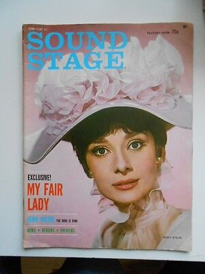 Sound Stage#1 Audrey Hepburn and more rare movie magazine 1964