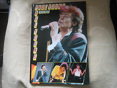 PAUL YOUNG hardback book special