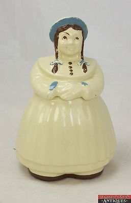Vintage Original Paint Shawnee Great Northern Dutch Girl /Jill Cookie Jar