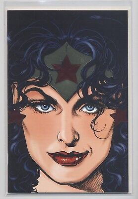 WONDER WOMAN # 1 - LOGO-EDITION / VARIANT 1111 Ex - DINO VERLAG 1998 - TOP