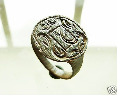 Post-medieval bronze seal-ring (r517).