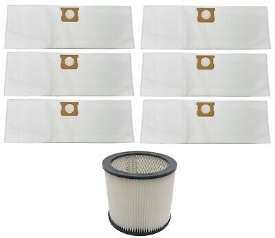 Filter & Bags 5 6 8 Gallon For 90304 90671 Shop Vac Hepa Drywall Filter 6 Bags