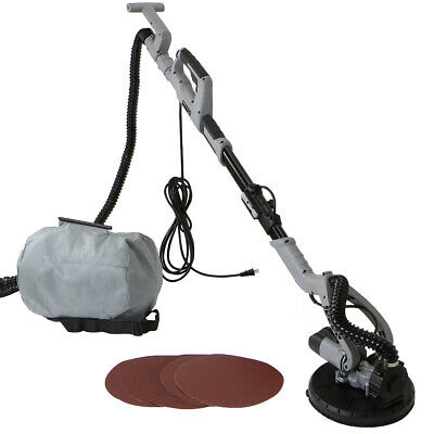 750W Drywall Sander Electric telescoping Variable Speed Sanding dustless vacuum