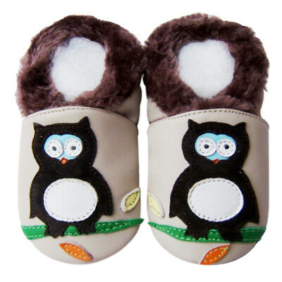 Littleoneshoes Jinwood Soft Sole Leather Baby Infant Children Gift Shoes 6-12M