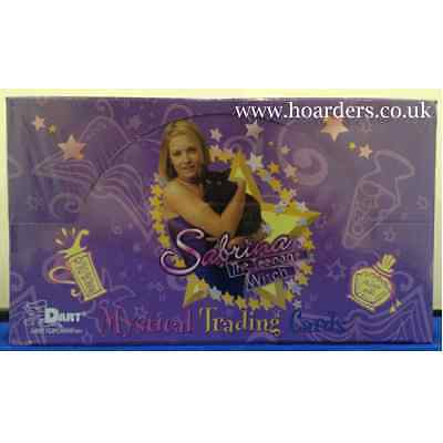 Sabrina the Teenage Witch : Mystical Trading Cards SEALED BOX