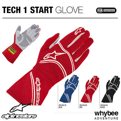 3551514 Alpinestars TECH-1 START GLOVES Entry Level Racing Kart Gloves Fireproof