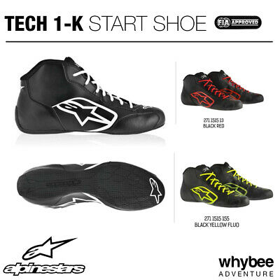 2711515 Alpinestars TECH-1 K START BOOTS Entry Level Karting Boots Sizes 35-48
