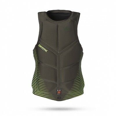 Mystic Majestic D3O Wakeboard Vest green Größe: S, Farbe: green