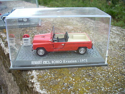 Die Cast Renault Acl Rodeo Evasion 1971 Scala 143