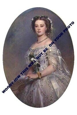 mm707-Princess Victoria Princess Royal daughter QV & mother Kaiser art-photo6x4""