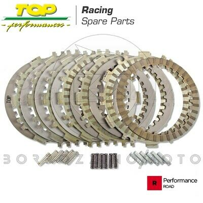 Dischi Frizione Top Performance Racing + 3 Kit Molle Yamaha T-Max 500 Tmax 2003