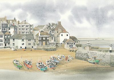 (86241) Postcard St Ives 1985 Post Office Issued