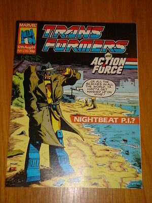 Transformers British Weekly #230 Marvel Uk Comic 1989
