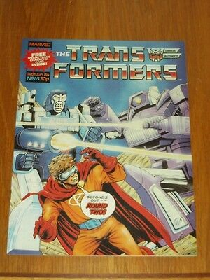 Transformers British Weekly #65 14Th June 1986 Marvel Uk Comic