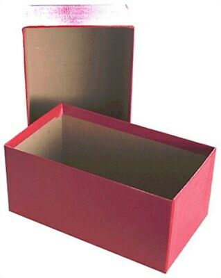 Guardhouse Small Regular US Currency / Dollar Bill Red Cardboard Storage Box