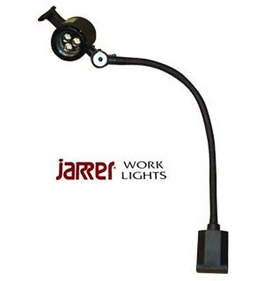 Jarrer JWL-50F LED 24V AC/DC flexible goose neck work light w/magnetic base.