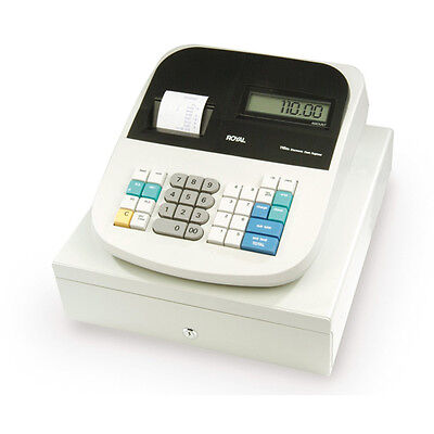 Royal 115CX Battery-Operated AC Adapter Portable Electronic Cash Register