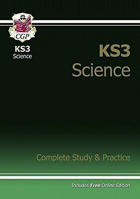 **NEW** - KS3 Science: Complete Study & Practice (PB) - 184146385X