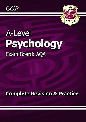 New A-Level Psychology: AQA Year 1 & 2 Complete Revision & (PB) 1782943307