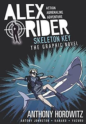 **NEW** - Skeleton Key Graphic Novel (Alex Rider) (PB) - 140636634X
