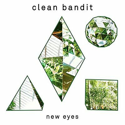 CLEAN BANDIT - NEW EYES: CD ALBUM (New Edition 2015 with Bonus Tracks)