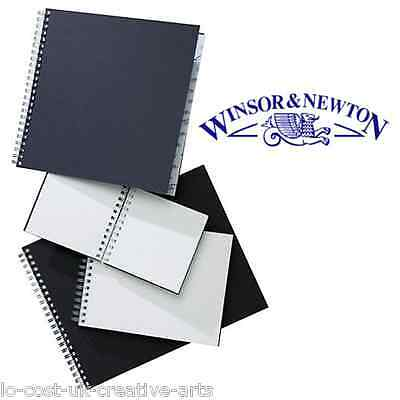 WINSOR NEWTON ARTIST A4 CASE BOUND 110gsm & O WIRE 170gsm HARD BACK SKETCH BOOK