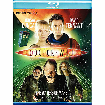 Doctor Who: The Waters of Mars Blu-ray Region A NEW BBC DAVID TENNANT