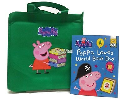 Peppa Pig Bag 10 Book Set Collection -RRP: £49.90- FREE 2017 World Book Day Book