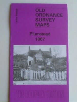 Old Ordnance Survey Maps Plumstead nr Woolwich London1867 Special Offer